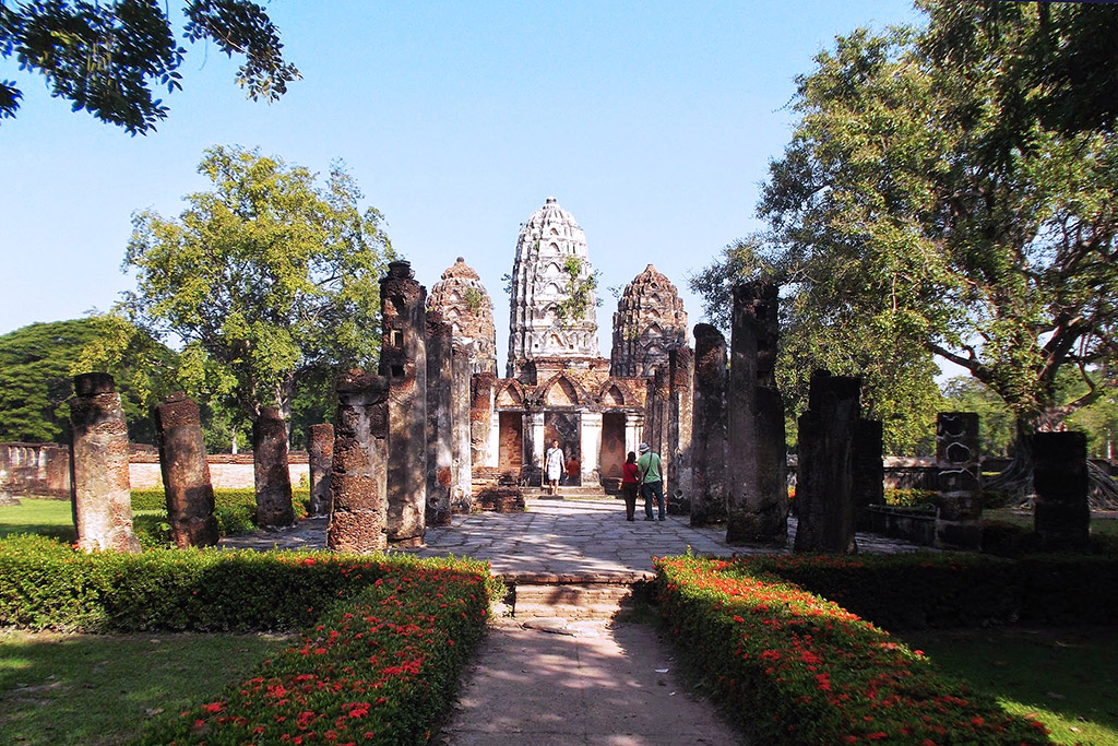 Wat Si Sawai in Sukhothai