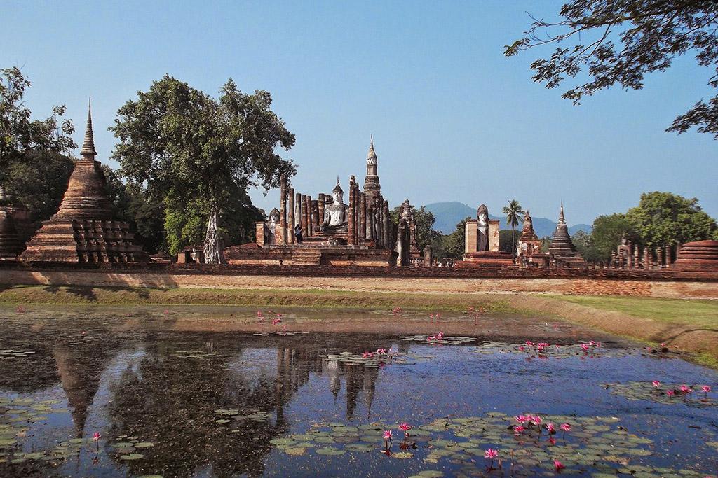Wat Mahāthāt in Sukhothai
