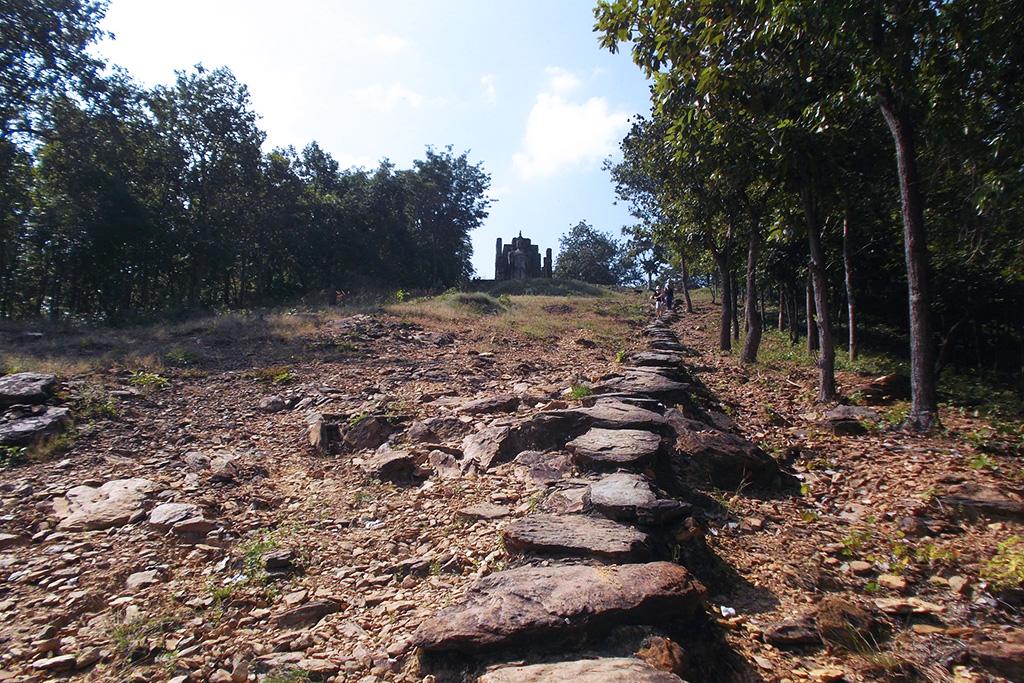 Wat Saphan Hin in Sukhothai