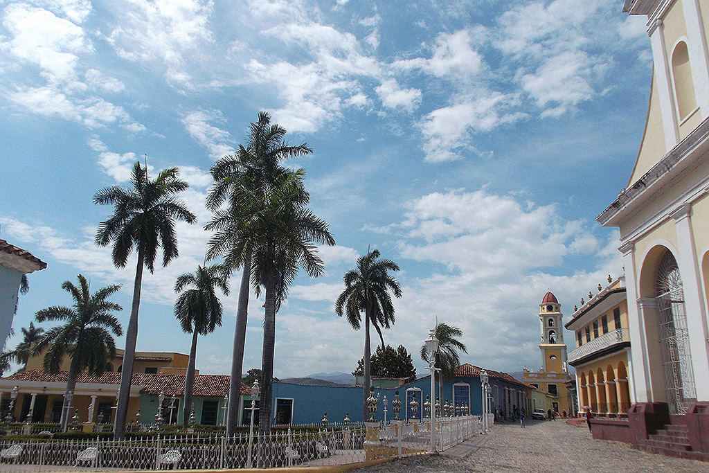 Plaza Mayor in Trinidad, Cuba's Colonial Fantasy