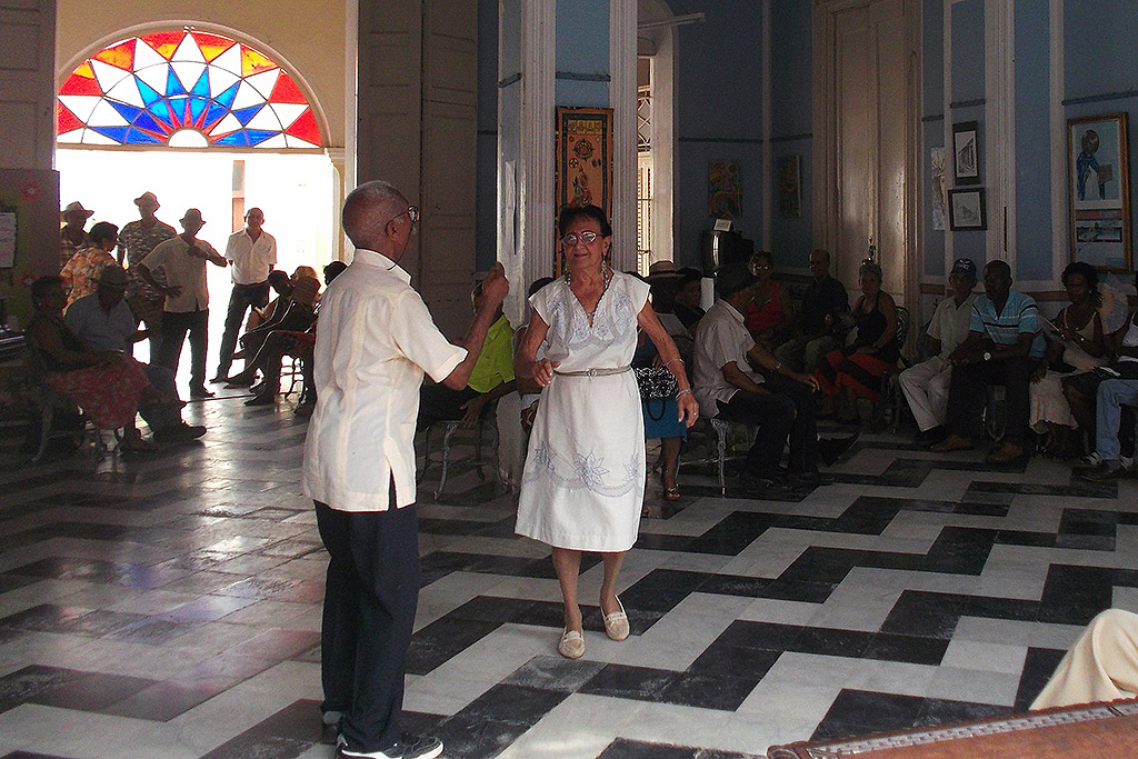 Couple dancing at the Casa de la Trova in Trinidad, Cuba's Colonial Fantasy