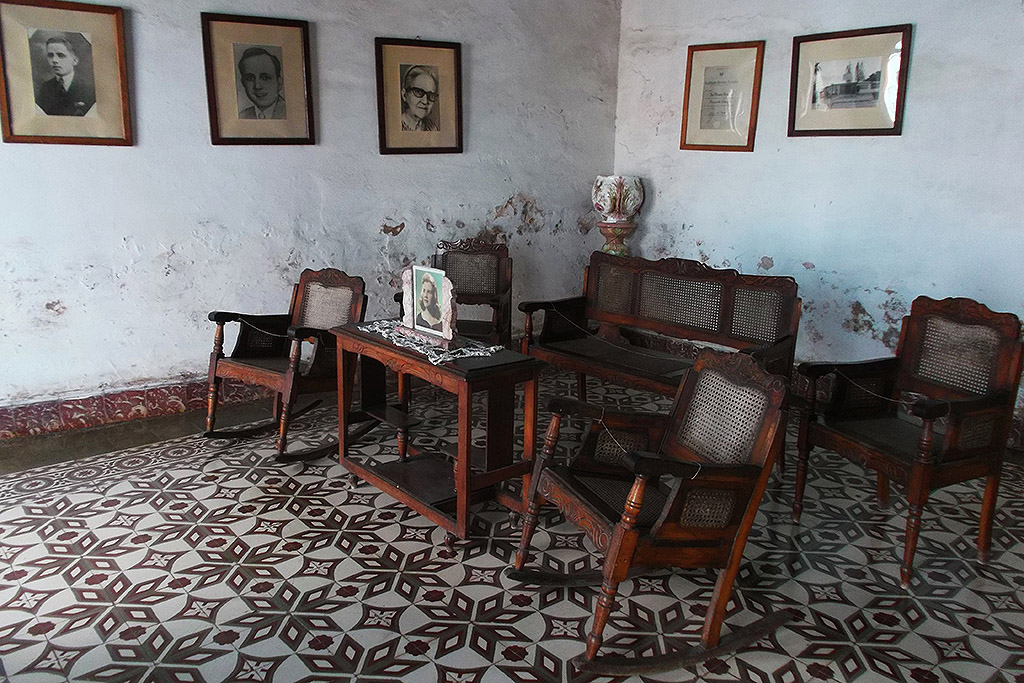 Former mansion of the Iznaga Family in Trinidad, Cuba's Colonial Fantasy.