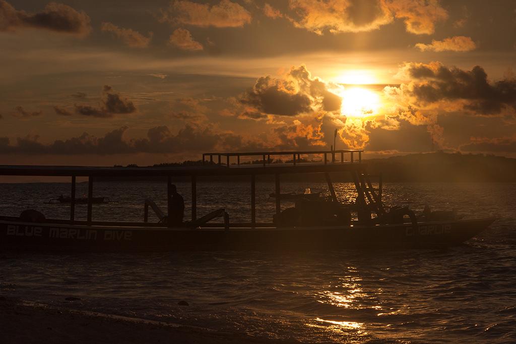 Sunset over Gili Air