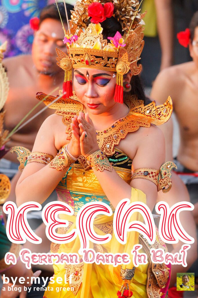 Pinnable Picture on the Post on KECAK - a German Dance in Bali