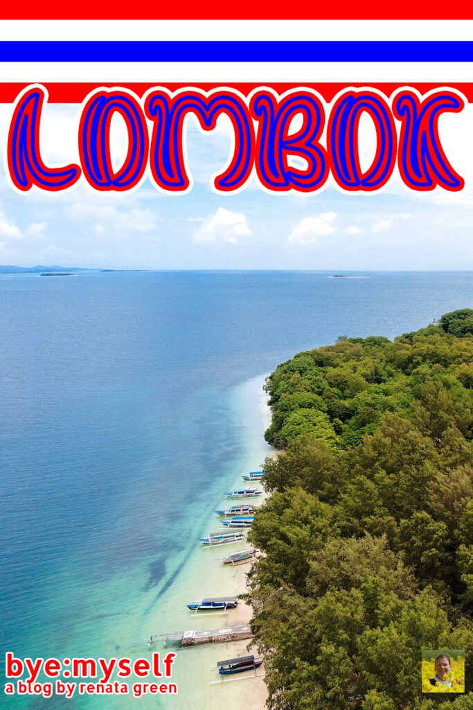 Pinnable Picture on the Post on LOMBOK - Bali 's serene alternative