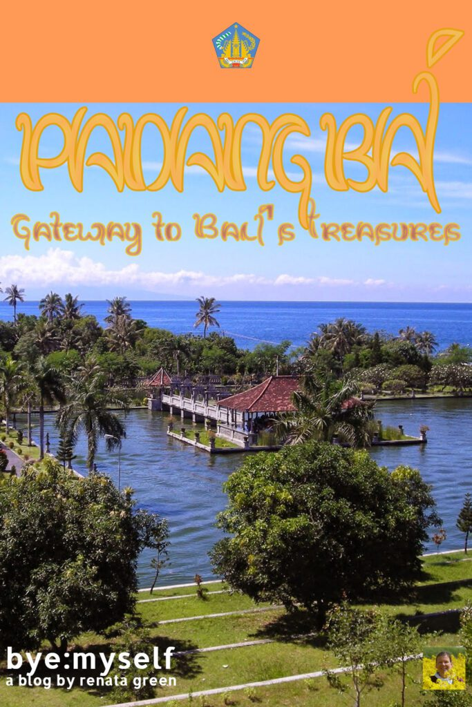 Pinnable Picture on the Post on PADANG BAI - Gateway to Bali's Treasures
