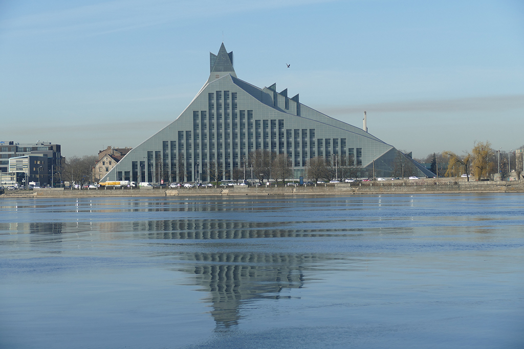 In this guide: Latvian National Library in RIGA, Latvia's entrancing capital.