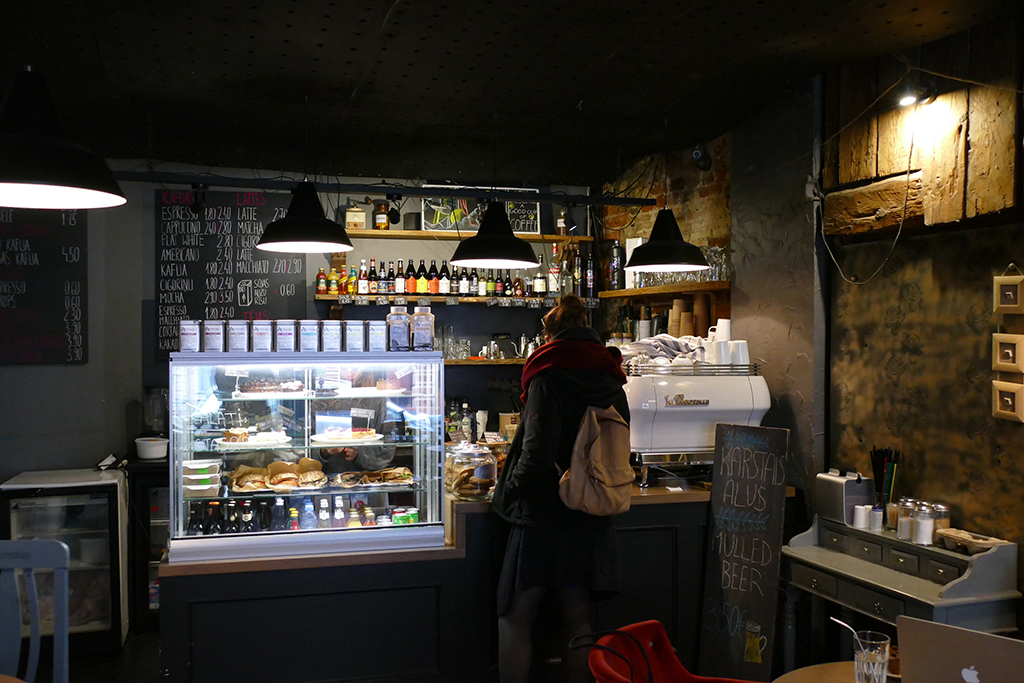 In this guide: Latvian Kuuka Café in RIGA, Latvia's entrancing capital.