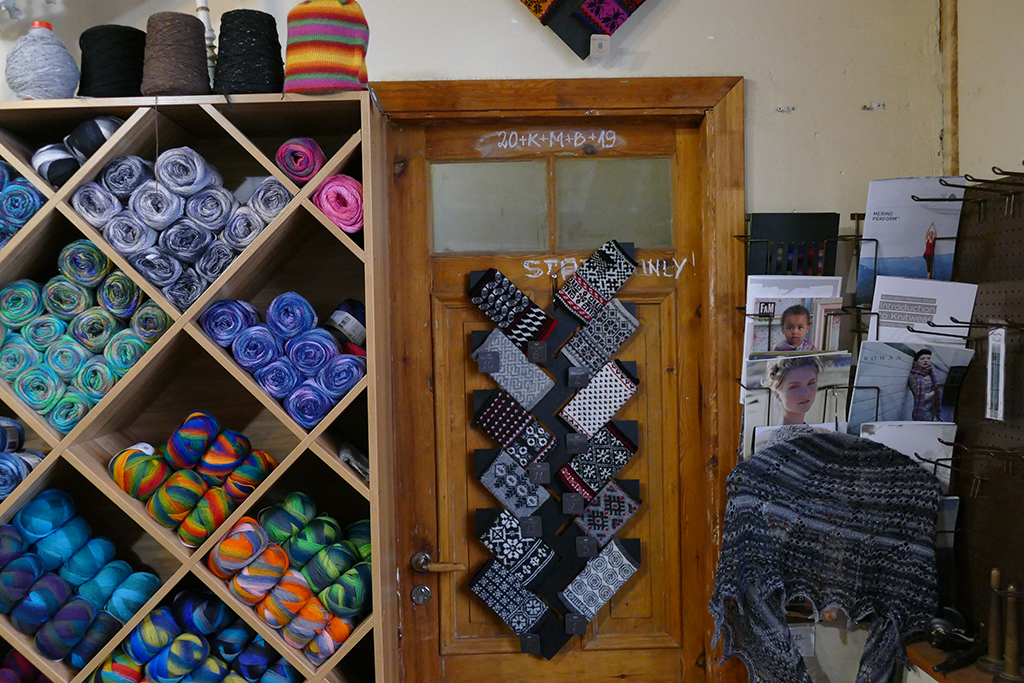 Wool and woolen products in Riga, Latvia