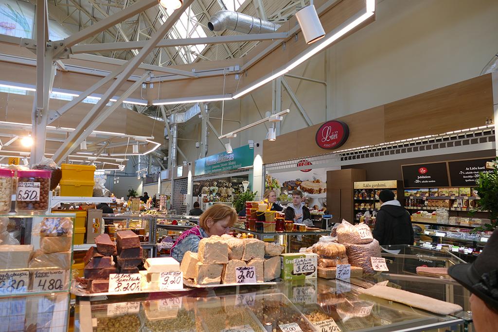 Market in Riga