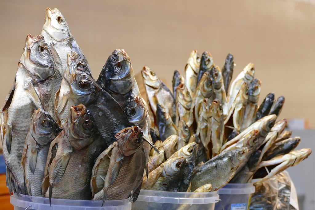 Fish on the Market in Riga