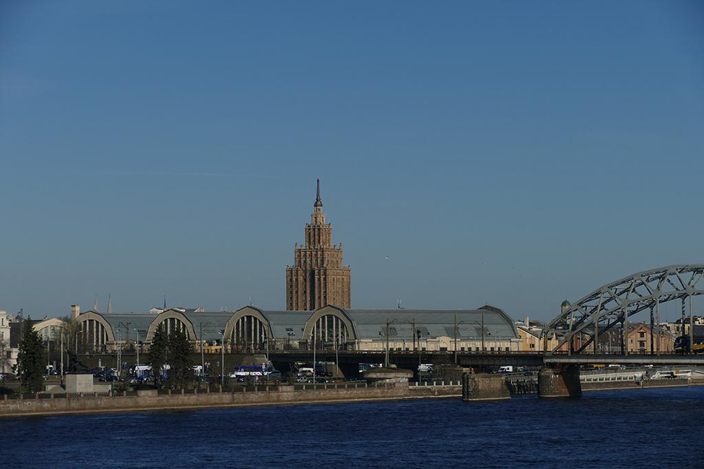 Latvian Academy of Sciences in Riga, Latvia's entrancing capital
