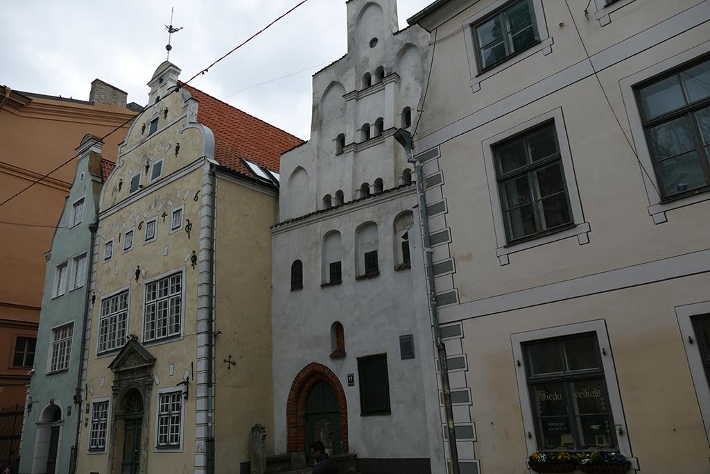 Three Brothers in Riga, Latvia's entrancing capital