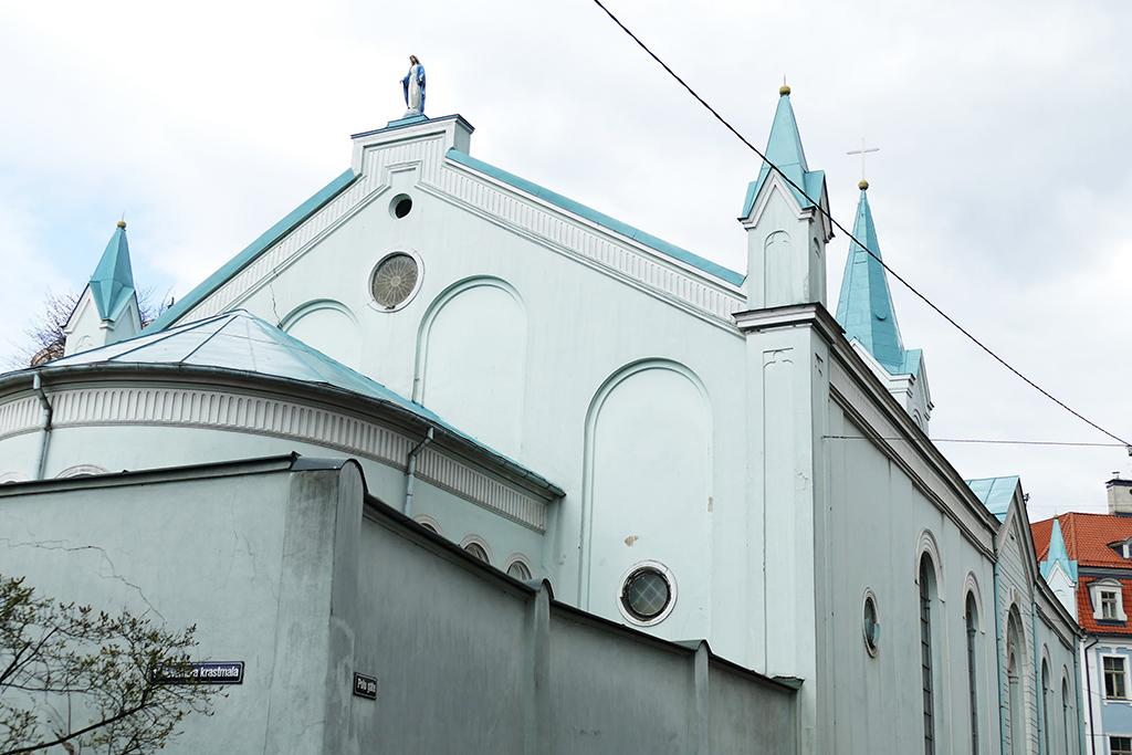 Riga Roman Catholic Church Our Lady of Sorrows