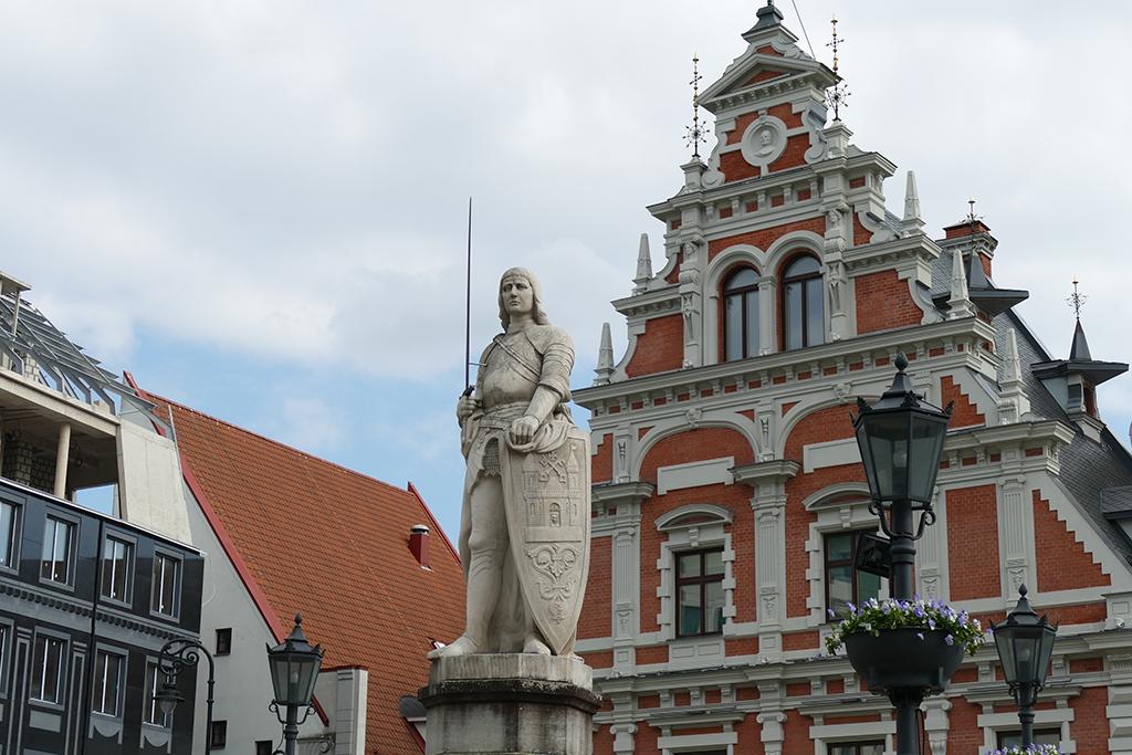 Roland Statue in Riga, latvia