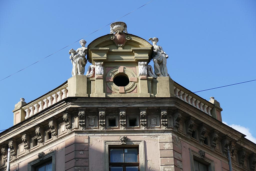 Art Deco building in Riga