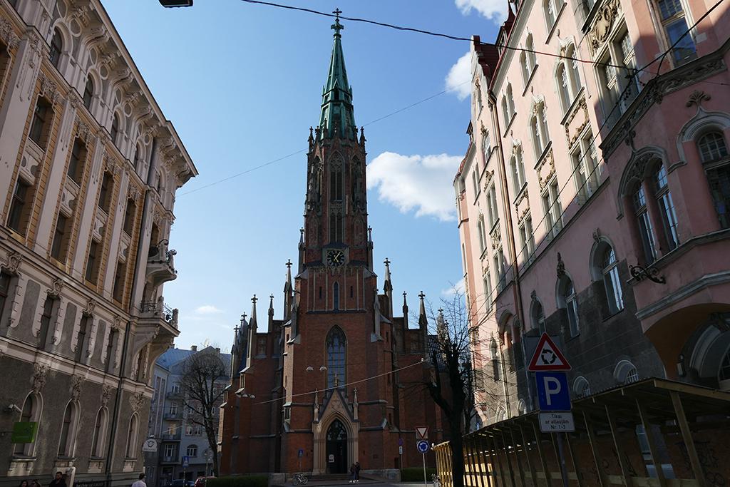 St. Gertrude Old Church in Riga