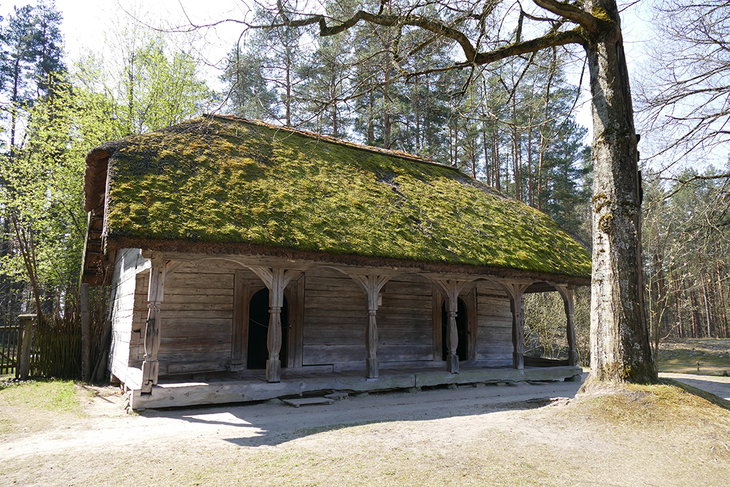 House at the Ethnographic Open-Air Museum in Riga