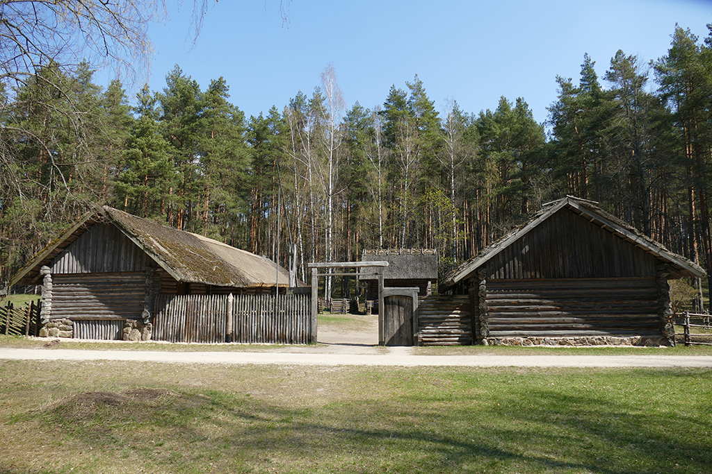 Dwelling at the Ethnographic Open-Air Museum in Riga