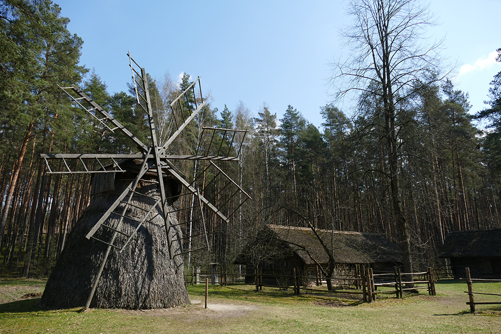 Wind Mill at the Ethnographic Open-Air Museum in Riga; Latvia's entrancing capital