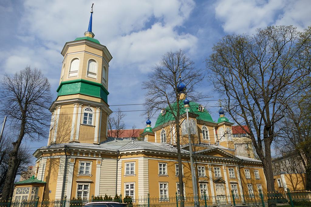 Heart of Jesus Evangelic Lutheran Church in Riga