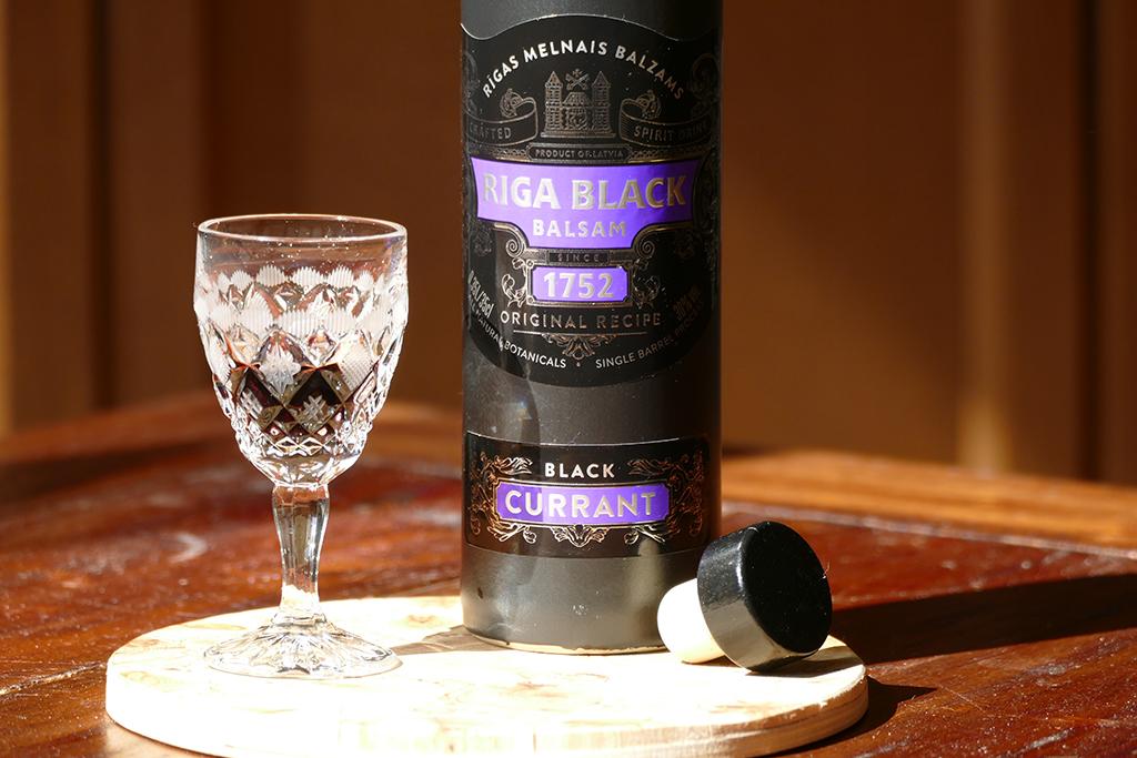 Black Current Liquor from Riga, Latvia