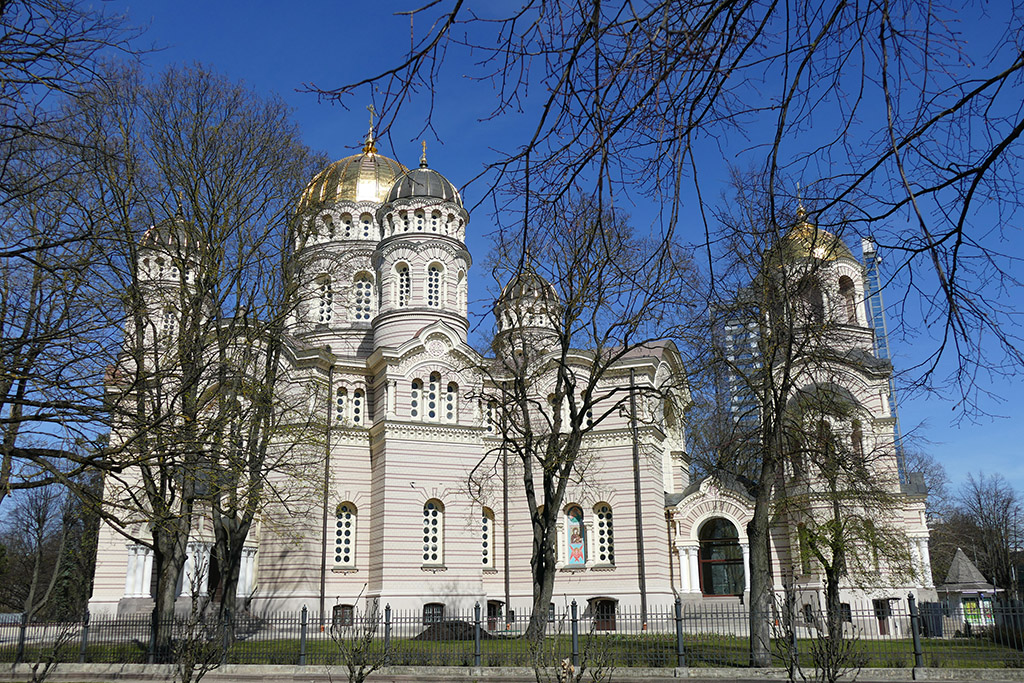 Orthodox Cathedral in Riga