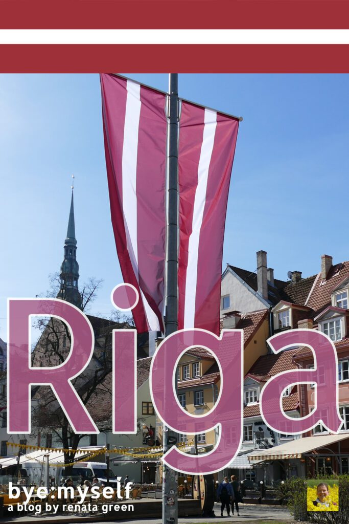 Pinnable Picture on the Post on RIGA - a guide to Latvia's entrancing capital