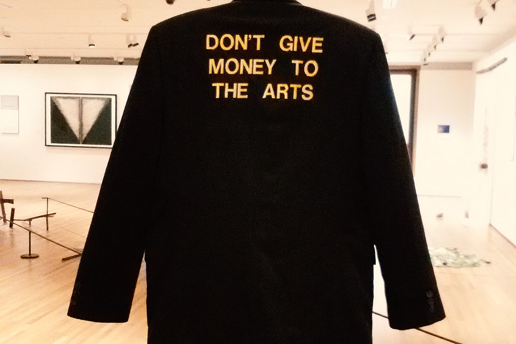 Tang Da Wu's Jacket from the Performance Don't Give Money to the Arts