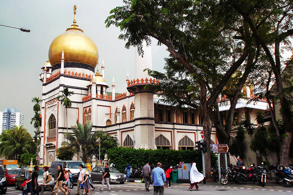 Masjid Sultan in Singapore, the powerful city-state
