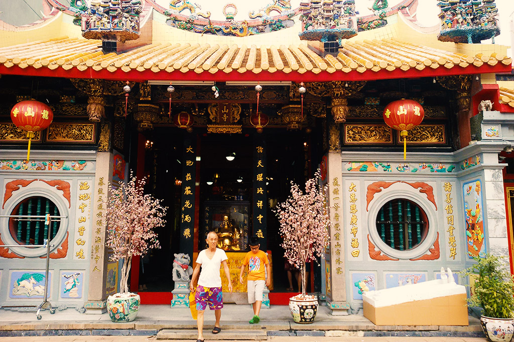 Leong San See Temple in Little India in Singapore, the powerful city-state.