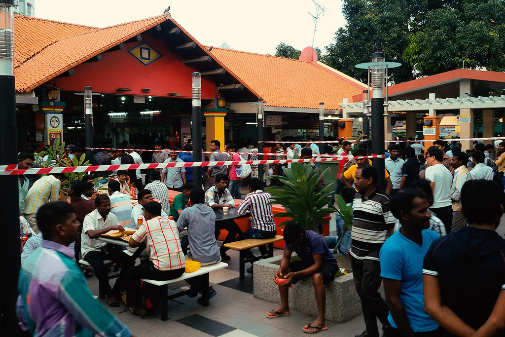 Tamil Eatery at Kerbau Road in Singapore, the powerful city-state