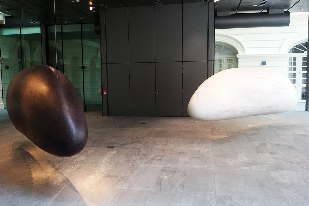 The Grains of Thoughts by Eng Tow at the Museum of Asian Civilizations in Singapore