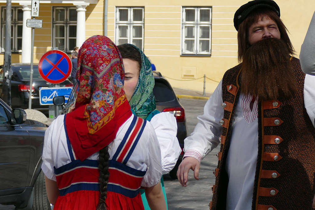 Russians in Tallinn, the city between the poles of history and creativity