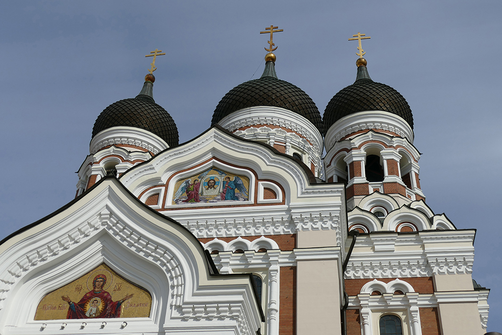 Russian Orthodox Alexander Nevsky Cathedral in Tallinn, the city between the poles of history and creativity
