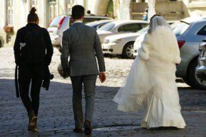Married couple in Tallinn