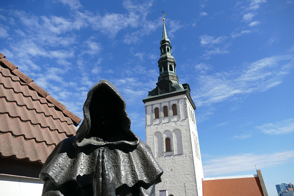St Michael's Church in Tallinn, the city between the poles of history and creativity