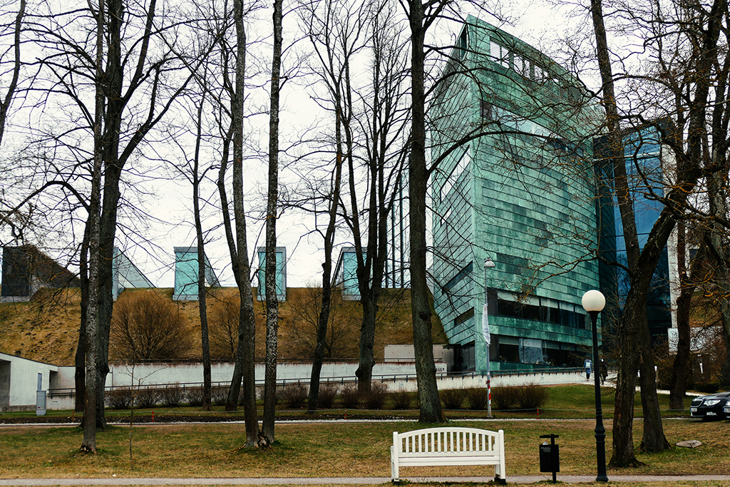 The KUMU in Tallinn, the city between the poles of history and creativity
