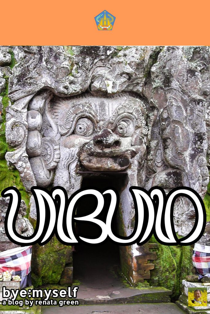 Pinnable Picture on the Post on UBUD – culture, tradition, and some monkey business