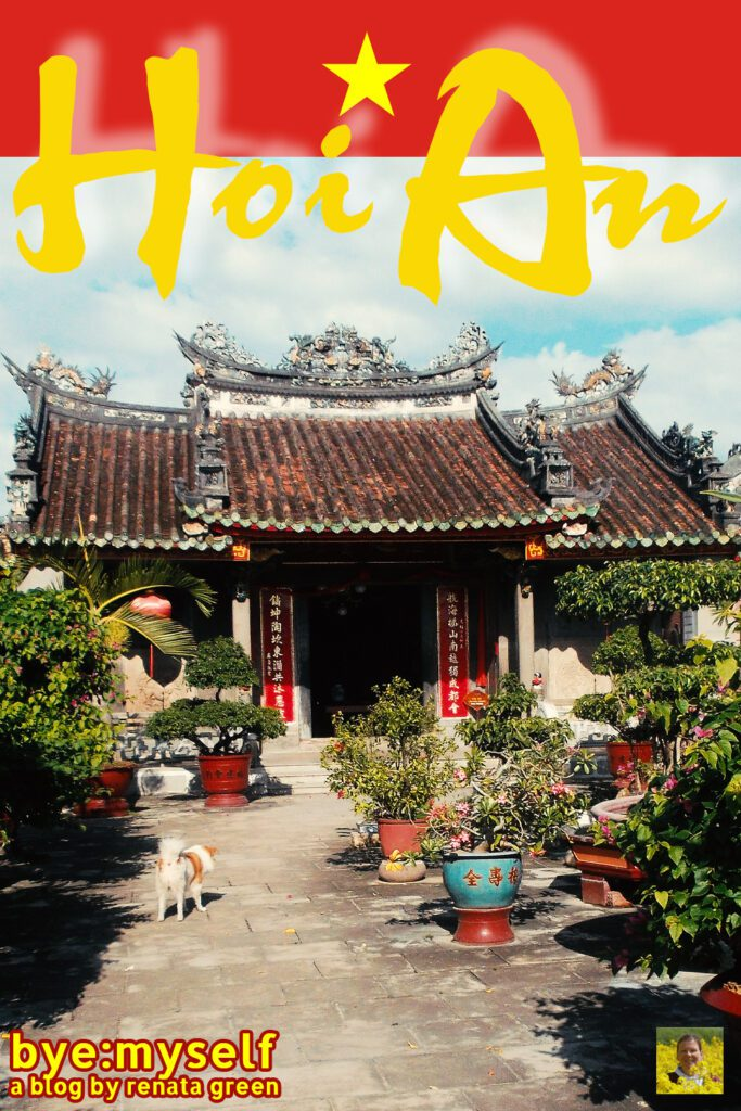 Pinnable Picture for the post on HOI AN - a tailor-made guide to a fabulous city
