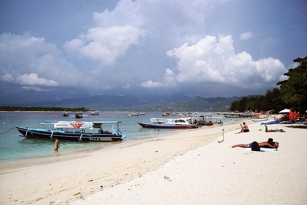 Beach of Trawangan