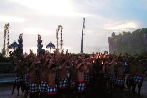 Kecak Dancers on Bali