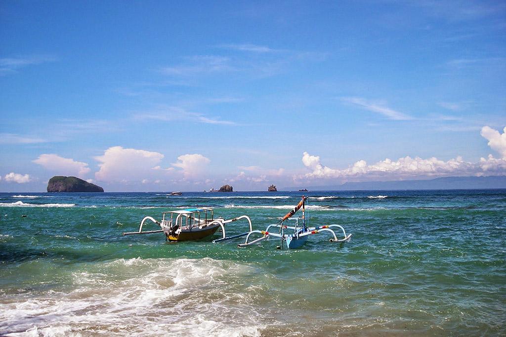 Beach of Padang Bai
