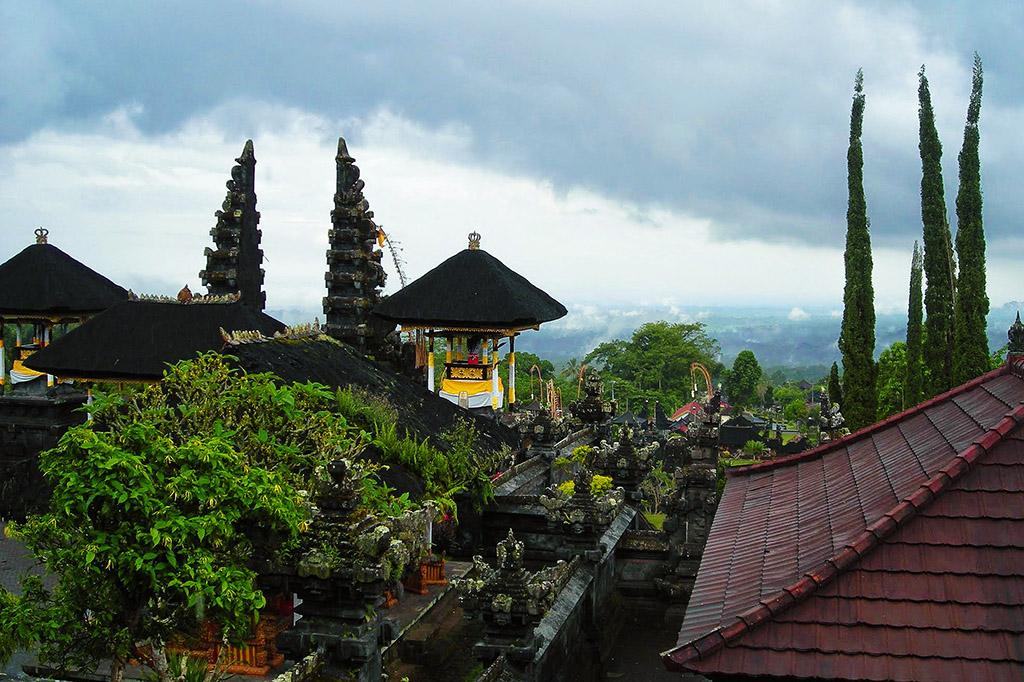 View from Pura Panataran Agung Besakih