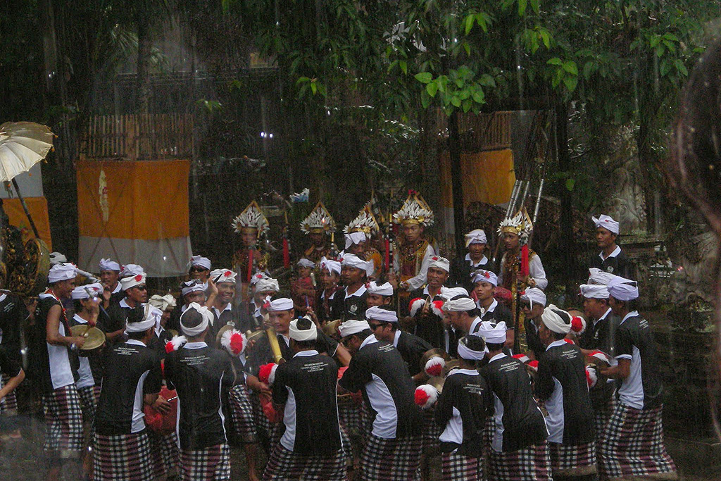 Cremation of Tjokorda Ngurah Wim Sukawati in Ubud