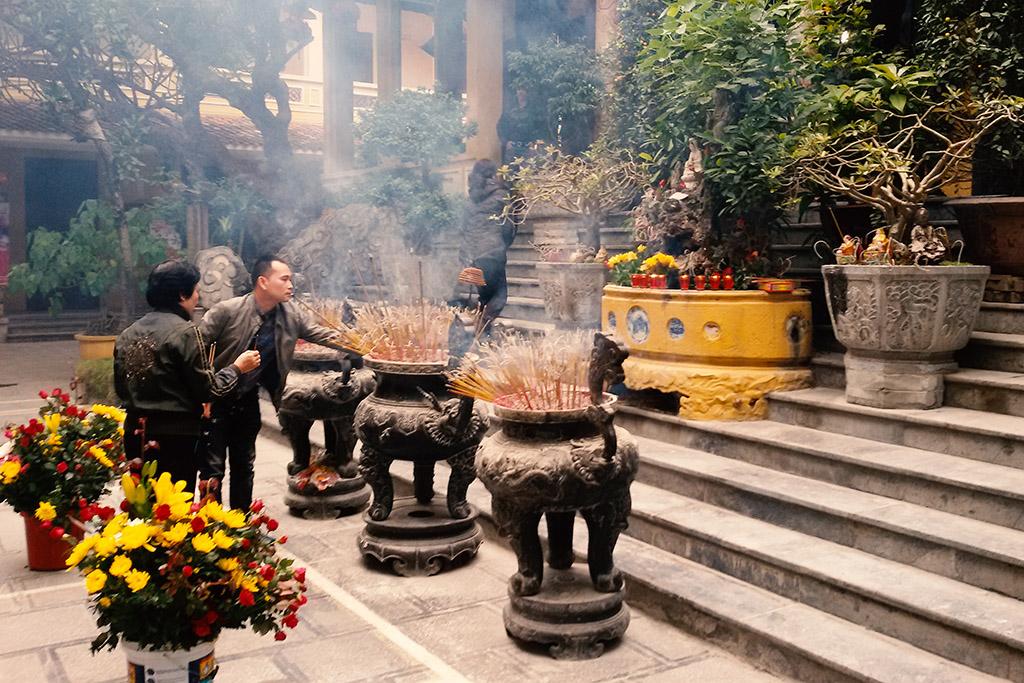 Chùa Thiên Phúc  in Hanoi