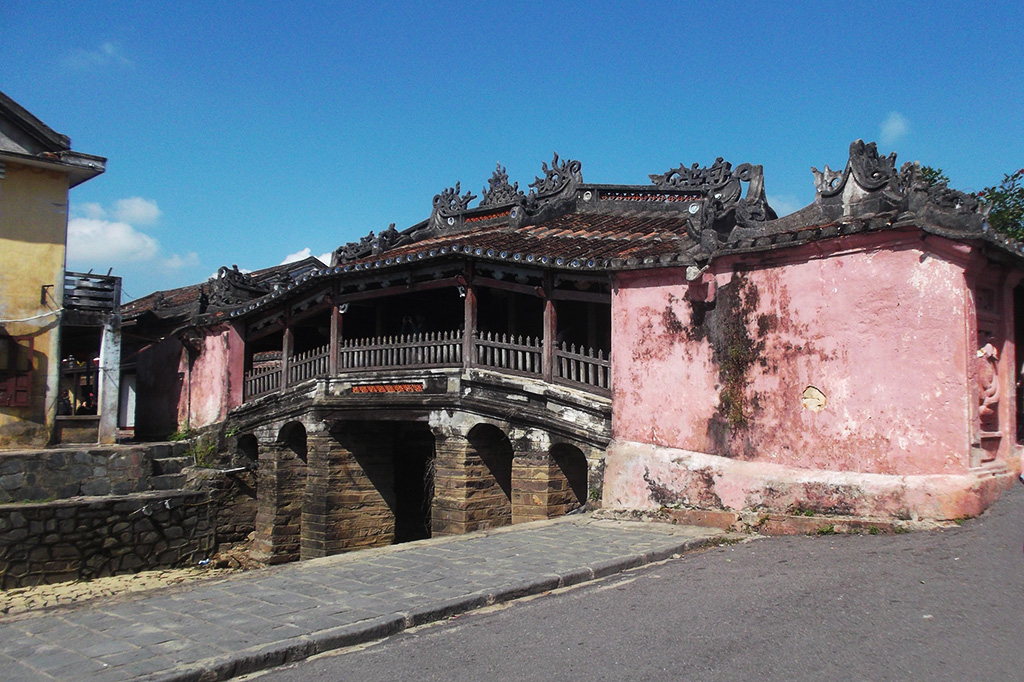 Japanese bridge in Hoi An