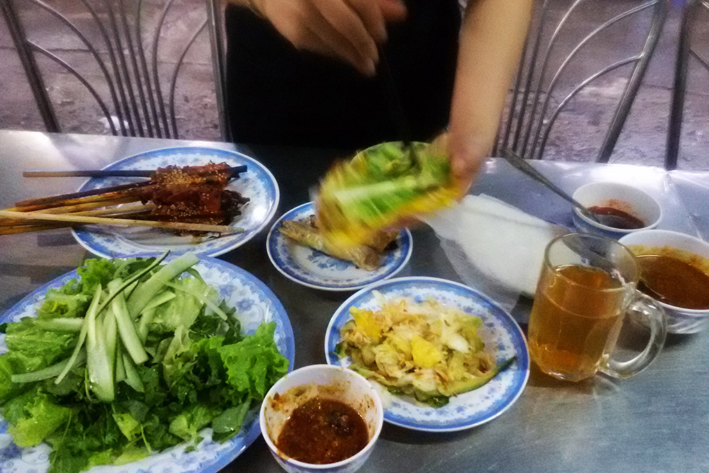 Vietnamese Food in Hoi An
