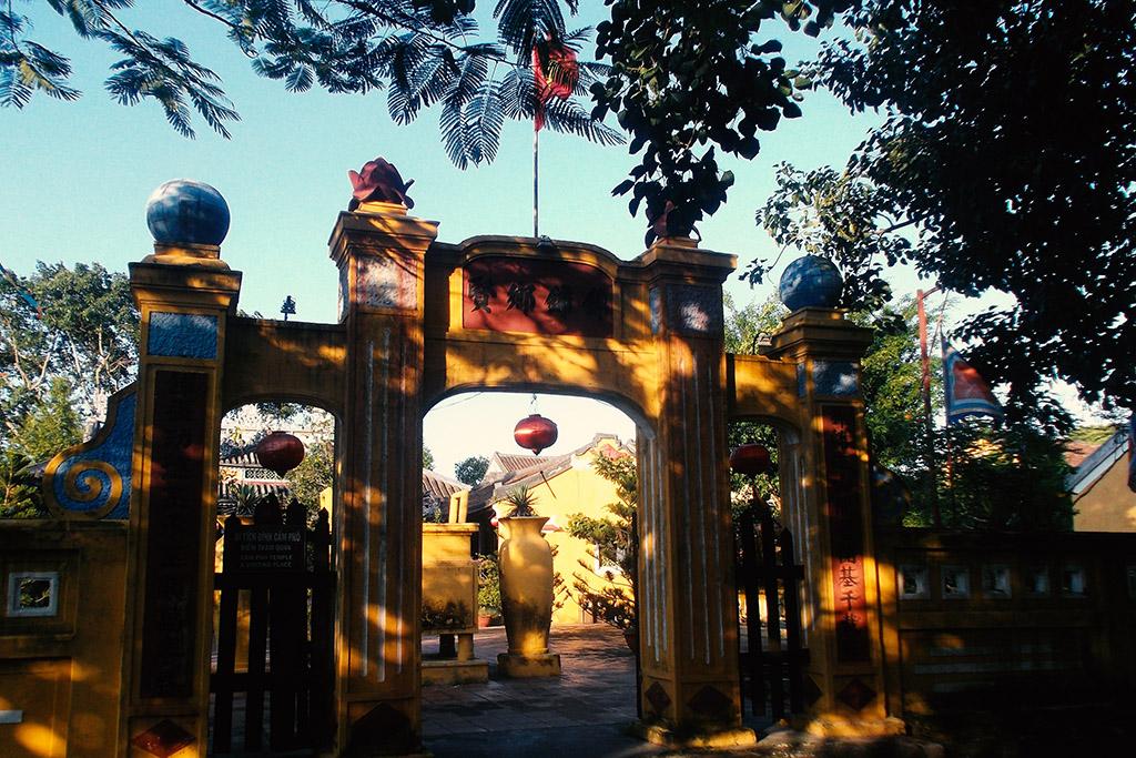 Đình Cẩm Phô in Hoi An