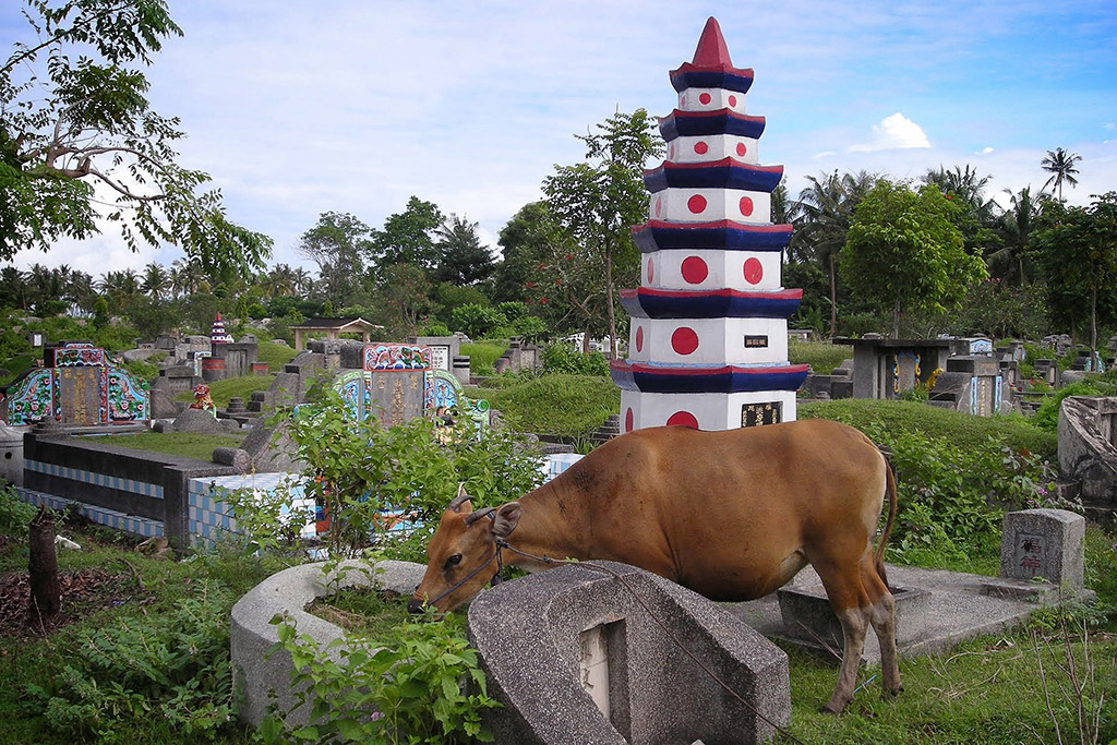 Chinese cemetery on Lombok